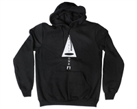 Field One Hooded Pull Over Sweatshirt - Basic - Black