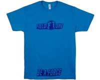 Field One T-Shirt - Be A Force - Blue