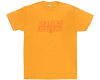 Field One T-Shirt - Be A Force - Gold