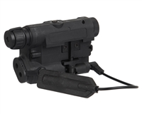Bravo P15 Flashlight & Laser Combo - Black