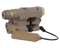 Bravo P15 Flashlight & Laser Combo - FDE
