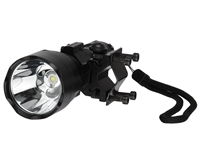 Warrior Barrel Mounted Flashlight - Black