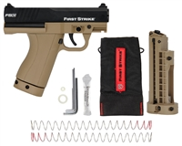 First Strike Compact Paintball Gun Pistol - Tan