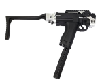 First Strike/Tiberius Arms FSC Pistol Folding Stock w/ Remote Air Adapter