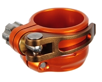 Planet Eclipse Geo Low Rise Clamping Feed Neck - Orange/Bronze