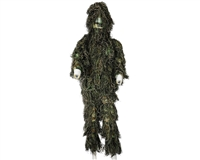 Boys Camo Ghillie Suit - Mil Spec - Woodland Camo