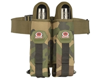 GI Sportz 2 Pack Paintball Harness with Belt - Woodland