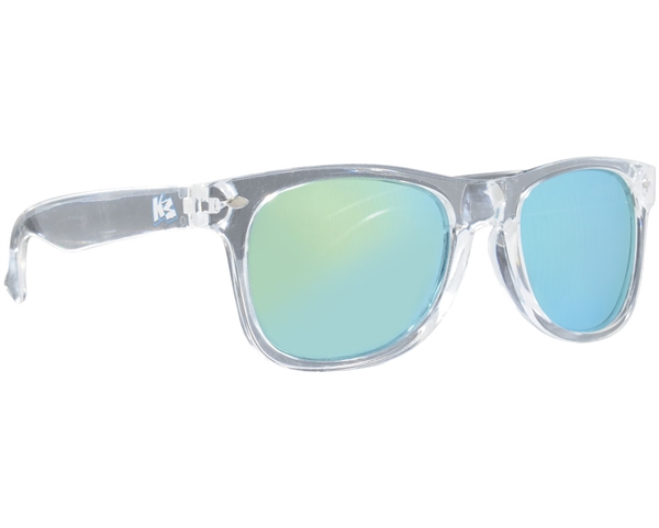 KM Sunglasses - Clear (Mirror Lens)