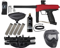 GoG eNMEy Epic Paintball Gun Package Kit - Racer Red