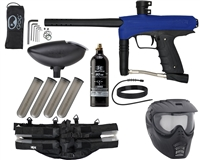 GoG eNMEy Epic Paintball Gun Package Kit - Razor Blue