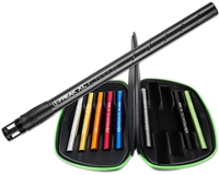 GOG Freak XL 10 Piece Barrel Kit - Autococker - Carbon Fiber/Black