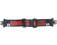 KM Goggle Strap - Grill - Warning