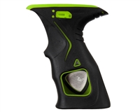 Dye Rubber Grips - M2 - Black/Lime