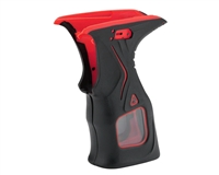 Dye Rubber Grips - M2 MOSAir - Black/Red