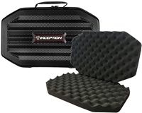 Inception Designs Large Carbon Fiber Gun Case w/ Egg Crate Foam