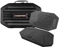 Inception Designs Large Carbon Fiber Gun Case w/ High Density Foam