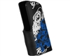 Gen X Global Skull Graffiti 45 Grip - Black/White/Blue