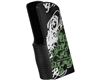 Gen X Global Skull Graffiti 45 Grip - Black/White/Green