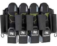 Empire 4+7 Action Pack Harness - F8 Komodo - Shamrock