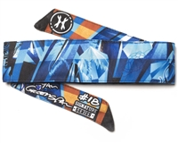 HK Army Padded Head Band - Dynasty Greenspan Diamond Blue