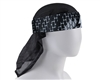 HK Army Padded Head Wrap w/ Mesh Netting - Graphite