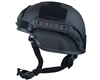 Valken Tactical Airsoft Helmet - MICH 2000 w/ Mount & Rails - Black