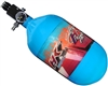 "HK Army Aerolite ""Extra Lite"" Compressed Air Bottle w/ Standard Regulator - Retro Liquid Teal (68/4500)"