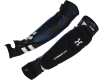 HK Army Crash Elbow Pads - Black/Blue