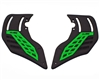 HK Army KLR Foam Soft Ears - Neon Green