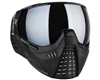 HK Army KLR Paintball Mask - Onyx w/ Chrome Lens
