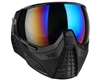 HK Army KLR Paintball Mask - Onyx w/ Cobalt Lens