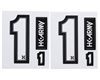 HK Army Sticker Pack - Number - 1