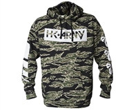 HK Army Off Break Pull Over Hooded Sweatshirt - Tiger Camo