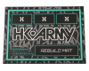 HK Army Tech Mat - Black/Teal