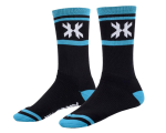 HK Army Tracer Speed Socks - Black/Teal