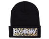 HK Army Beanie - Tiger - Black