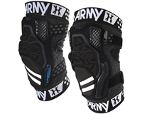 HK Army Crash CTX Knee Pads - Black/Black