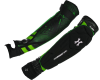 HK Army Crash Elbow Pads - Black/Neon