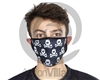 HK Army Anti-Dust Protective Face Coverings - All Over Black