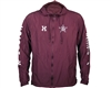 HK Army Jacket - Russian Legion Windbreaker - Maroon