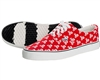 HK  Army Canvas Sneaker Shoes - HK Skull - Red/White
