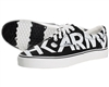 HK  Army Canvas Sneaker Shoes - Logo - Black/White