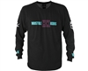 HK Army Long Sleeve T-Shirt - OG - Black/Teal/Pink