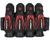 HK Army 4+3+4 Zero G 2.0 Harness - Black/Red