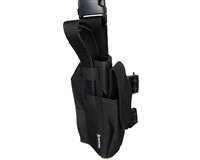 First Strike/Tiberius Arms 8.1 Pistol Deluxe Drop Leg Holster - Right Hand - Black