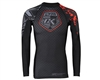 Contract Killer Long Sleeve Stained Rashguard - Black