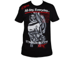 Contract Killer No Love T-Shirt - Black/Red