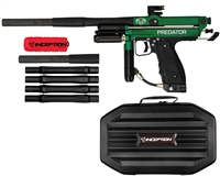 Inception Designs Retro Predator  Mini Autococker Paintball Gun - Green/Black
