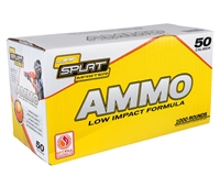 JT Splatmaster 1000ct .50 Cal Paintball Ammo - White Fill