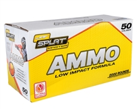 JT Splatmaster 2000ct .50 Cal Paintball Ammo - Orange Fill